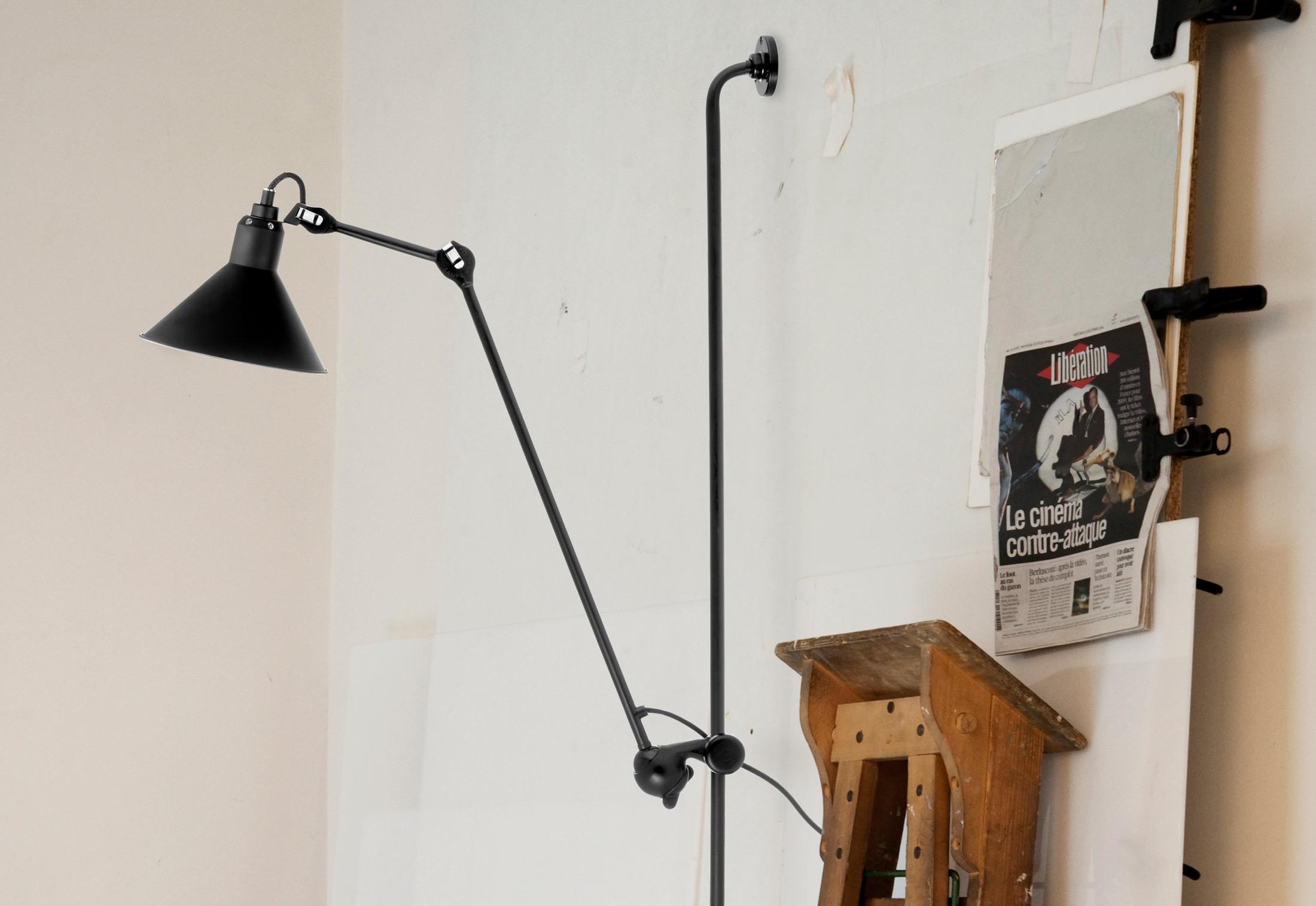 n 214 wall lamp di la lampe gras lampade a parete. Black Bedroom Furniture Sets. Home Design Ideas