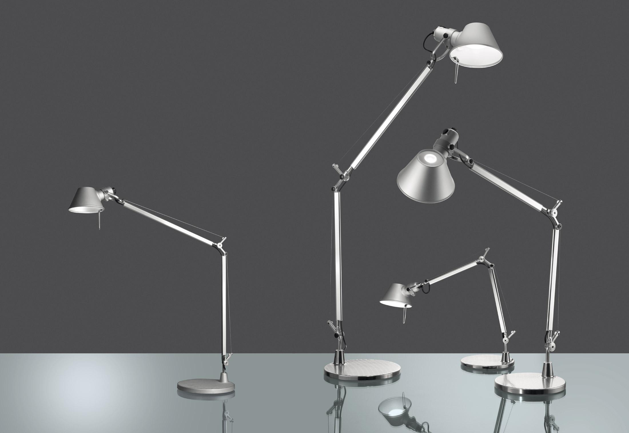 Tolomeo midi led di artemide lampade da tavolo - Lampade da tavolo artemide ...