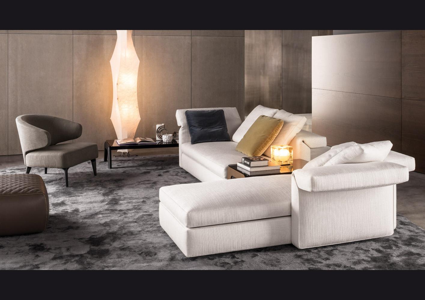 Collar di minotti divani e poltrone arredamento for Divano letto minotti