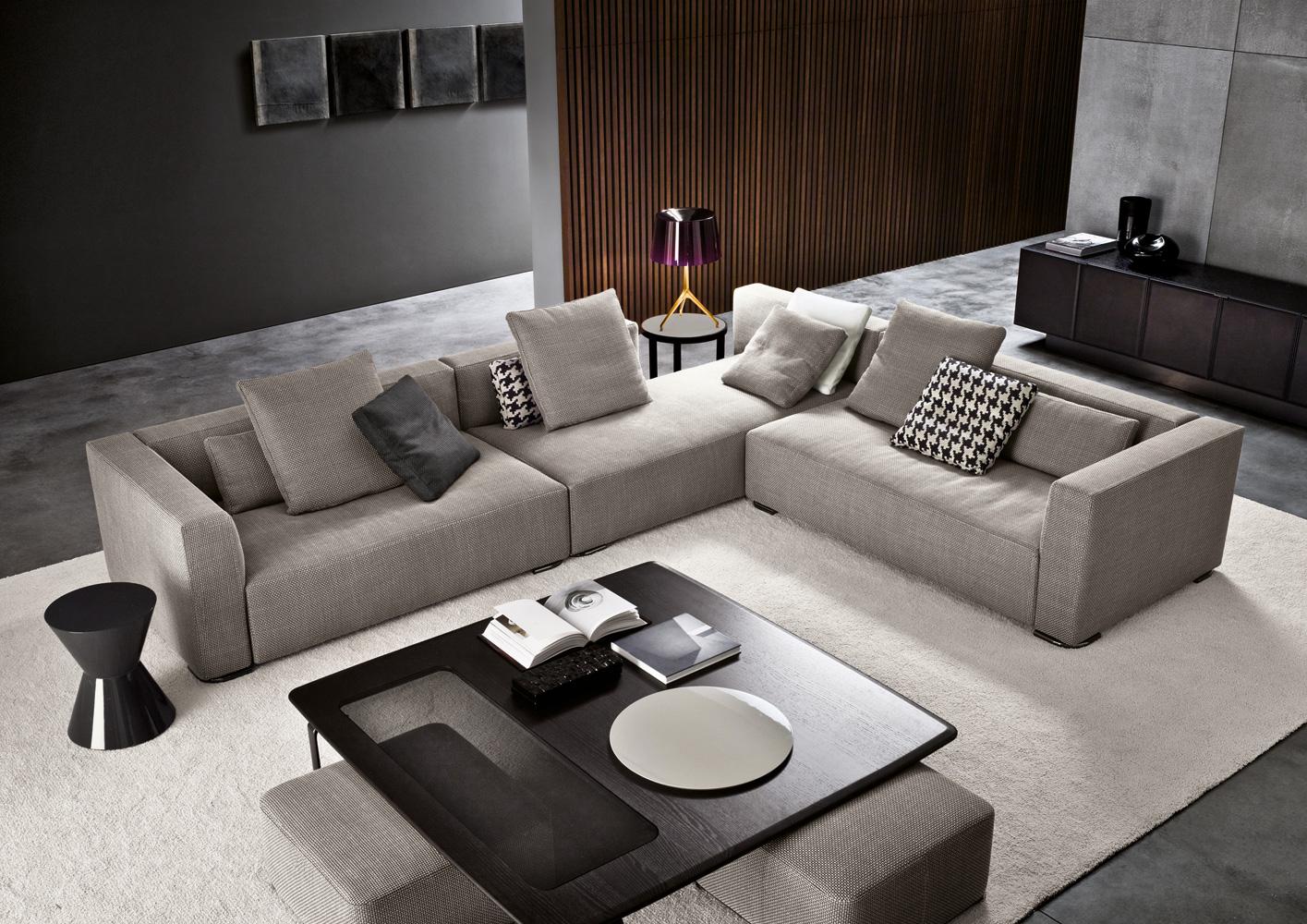 Donovan di minotti divani e poltrone arredamento for Immagini design