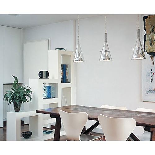 Flute 3 FontanaArte   Lampade a Sospensione in lista nozze   Mollura Home Design -> Lampadario Fontana Arte Cucina