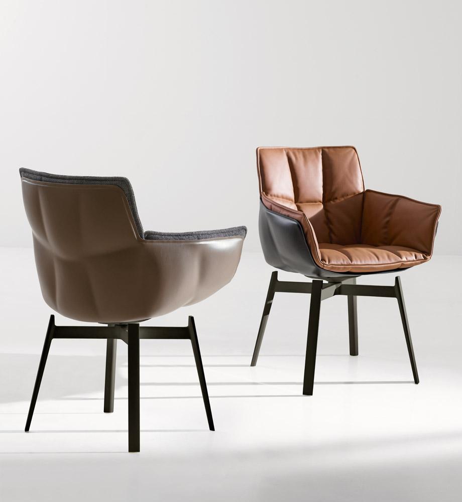 husk chair di b b italia sedie poltroncine arredamento mollura home design. Black Bedroom Furniture Sets. Home Design Ideas