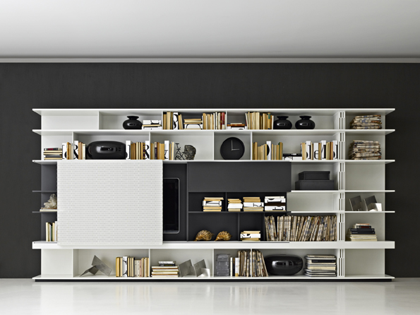sequence di molteni c pareti e librerie arredamento mollura home design. Black Bedroom Furniture Sets. Home Design Ideas