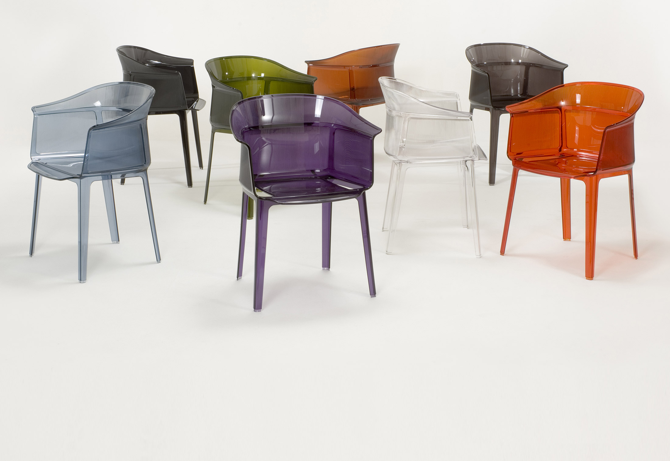 Papyrus di kartell sedie poltroncine arredamento for Sedie design kartell