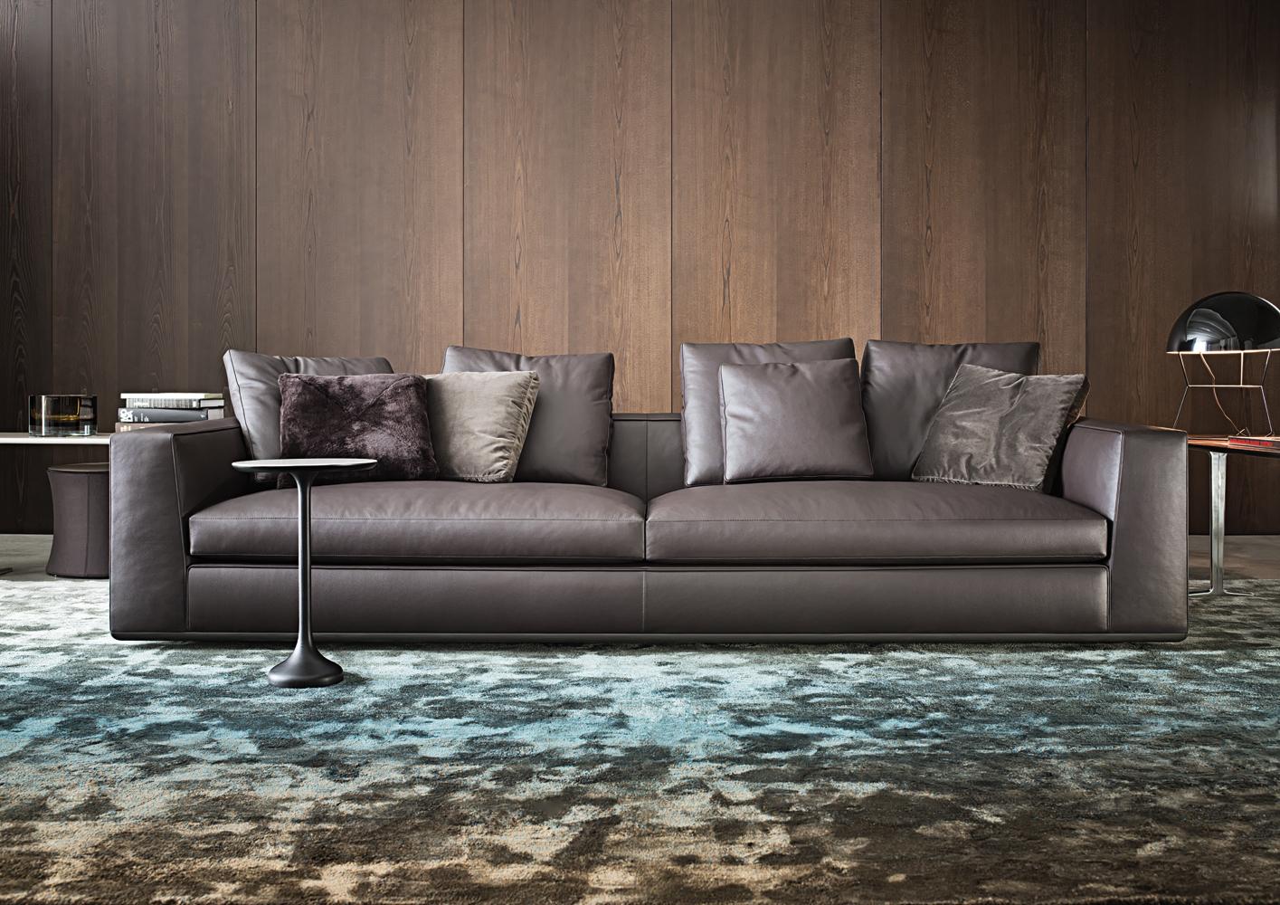 Powell di minotti divani e poltrone arredamento - Divano color prugna ...