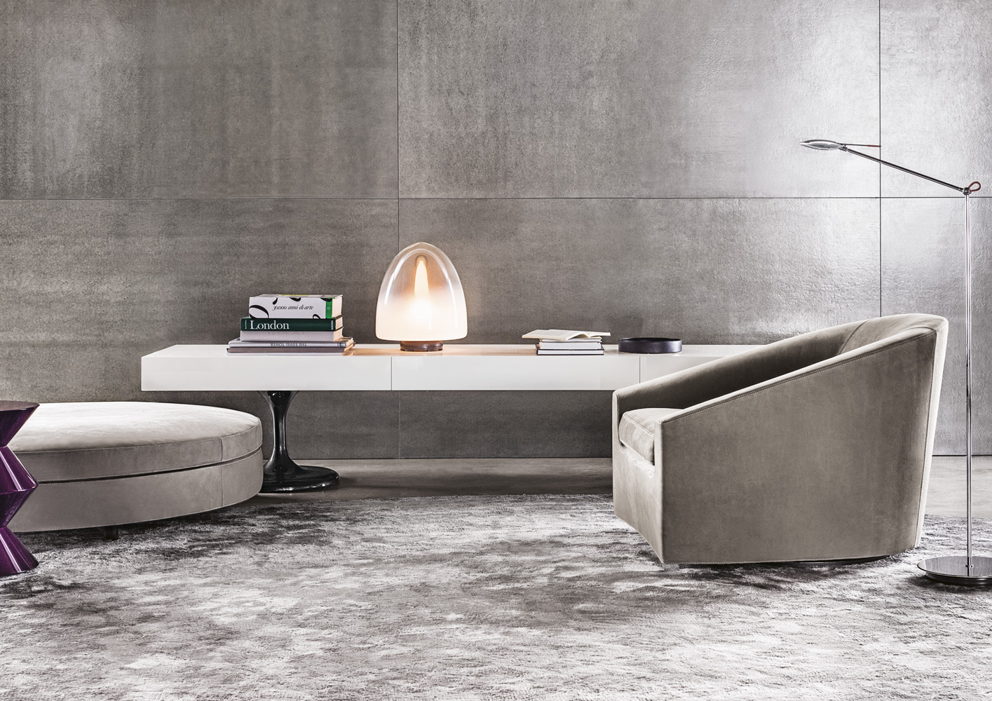 Quinn di minotti poltrone chaise longue arredamento for Outlet cassina meda