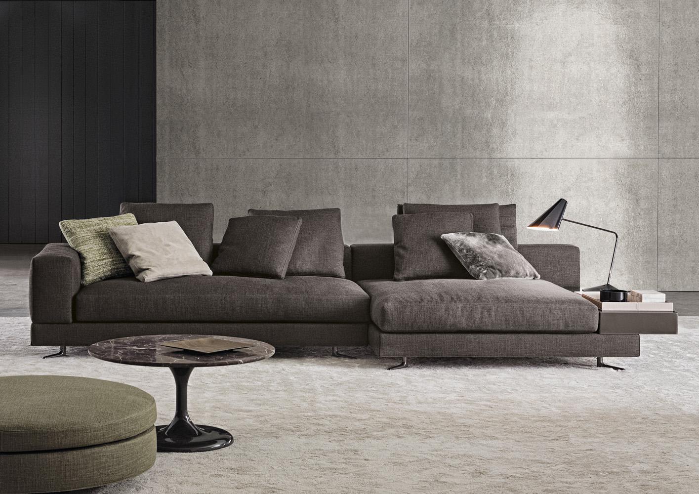 White di minotti divani e poltrone arredamento for Divano letto minotti