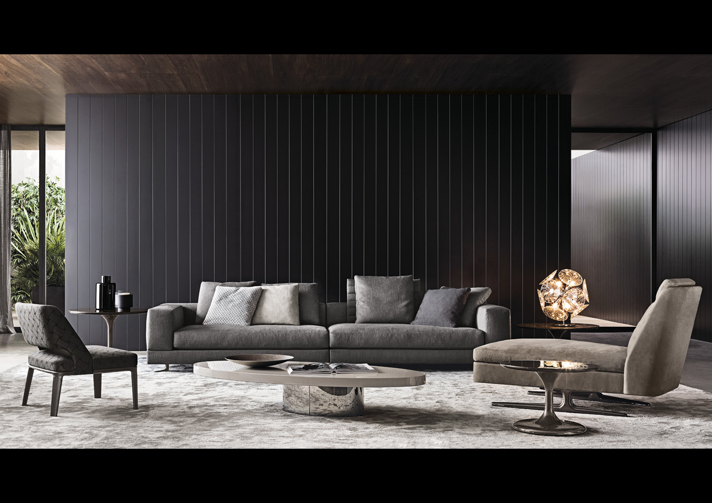 White di minotti divani e poltrone arredamento for Outlet cassina meda
