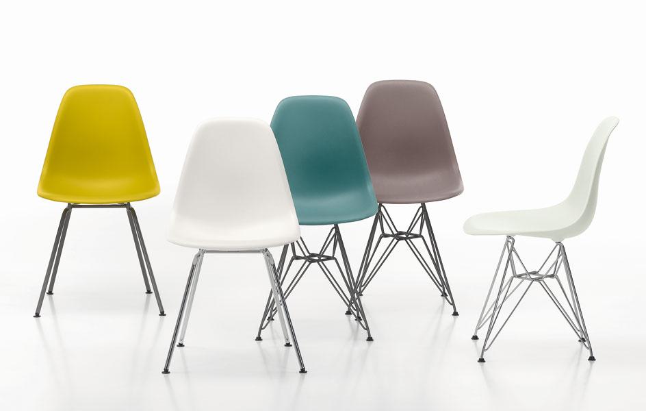 eames plastic chair di vitra sedie poltroncine. Black Bedroom Furniture Sets. Home Design Ideas