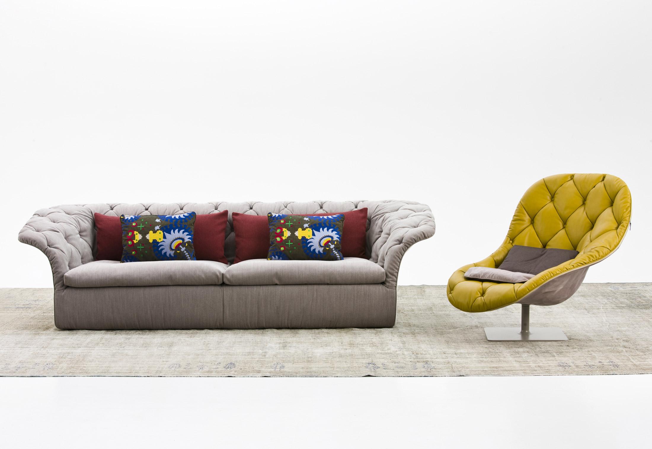 Bohemian sofa di moroso divani e poltrone arredamento for Divano e poltrona