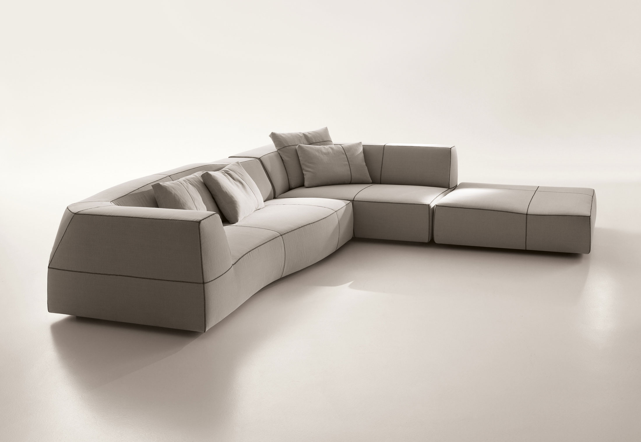 Bend sofa di b b italia divani e poltrone arredamento for B and b divani