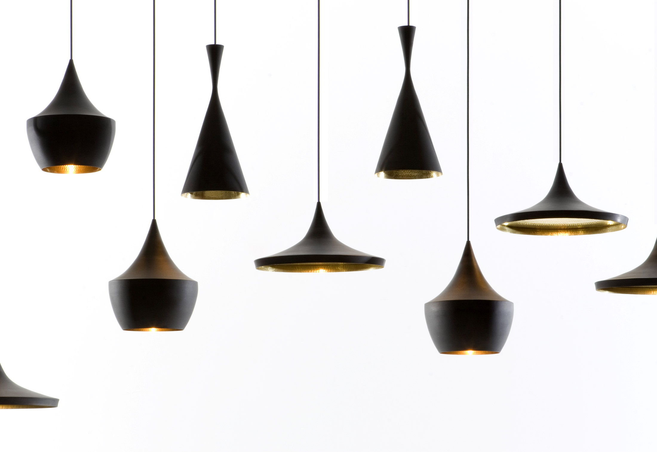 beat light di tom dixon lampadari illuminazione. Black Bedroom Furniture Sets. Home Design Ideas
