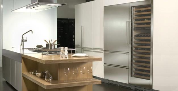 Icb427g cantina vino di sub zero wolf elettrodomestici design arredamento mollura home - Cucina e cantina ...