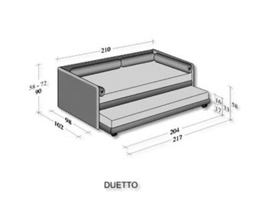 Duetto di flou letti co arredamento mollura home design - Divano letto flou duetto ...