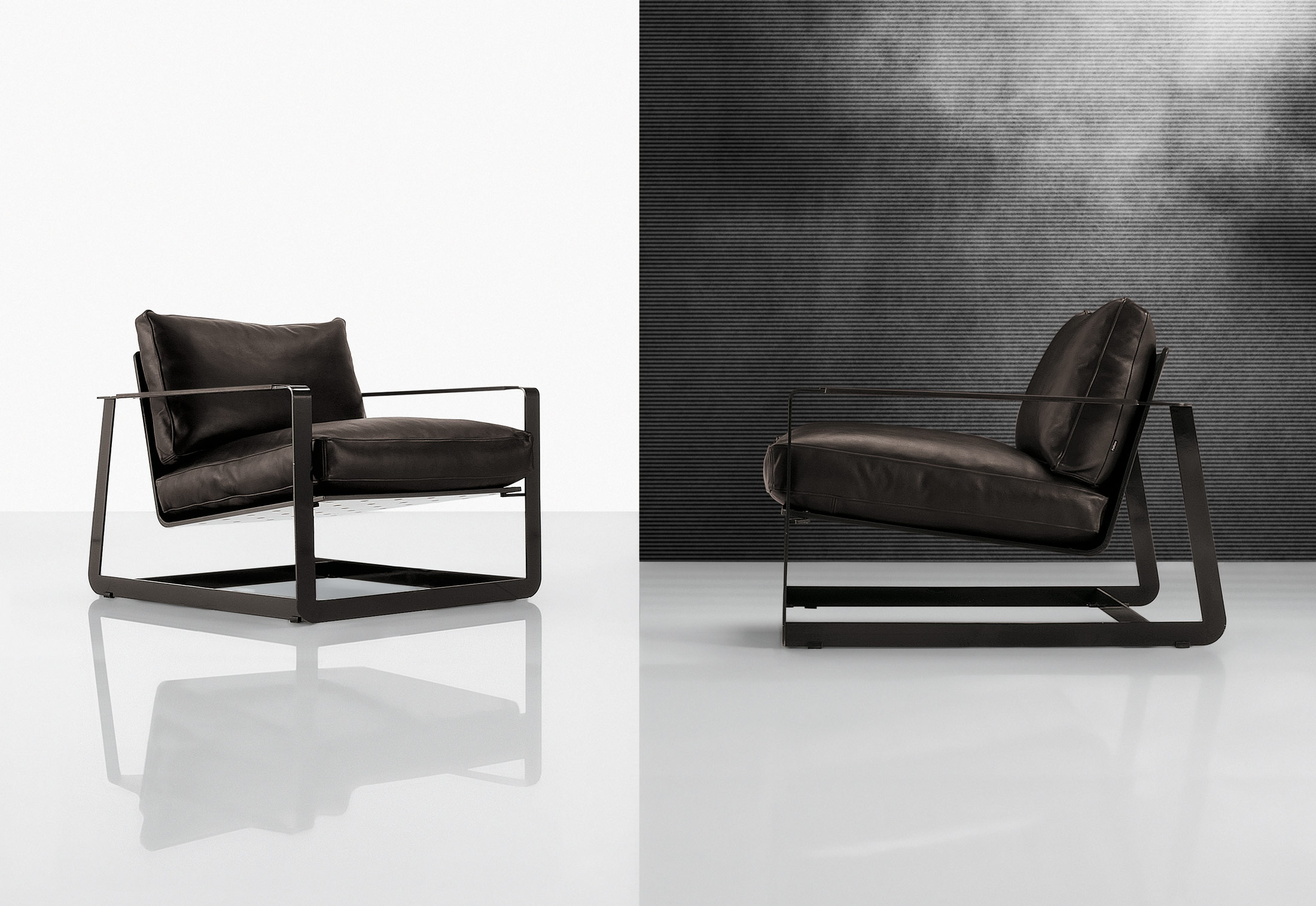 Gaston di poliform divani e poltrone arredamento for Poltrone design on line