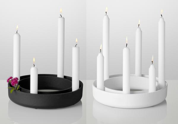 candeliere gloria di muuto candelabri accessori mollura home design. Black Bedroom Furniture Sets. Home Design Ideas