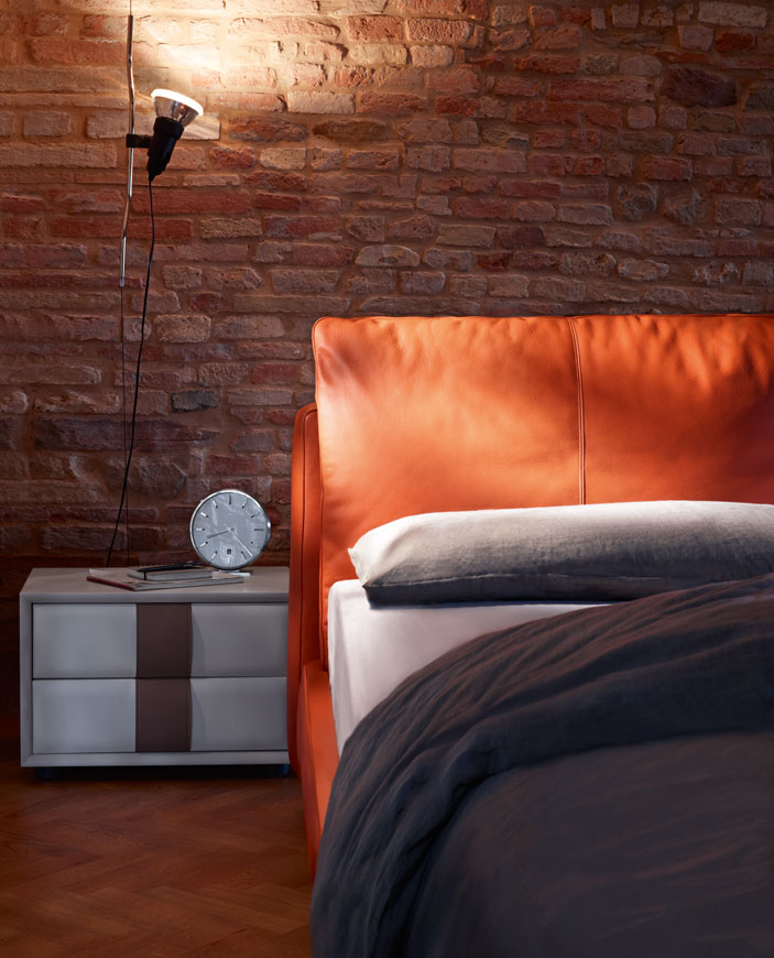 Massimosistema Bed di Poltrona Frau  Letti & Co. - Arredamento ...