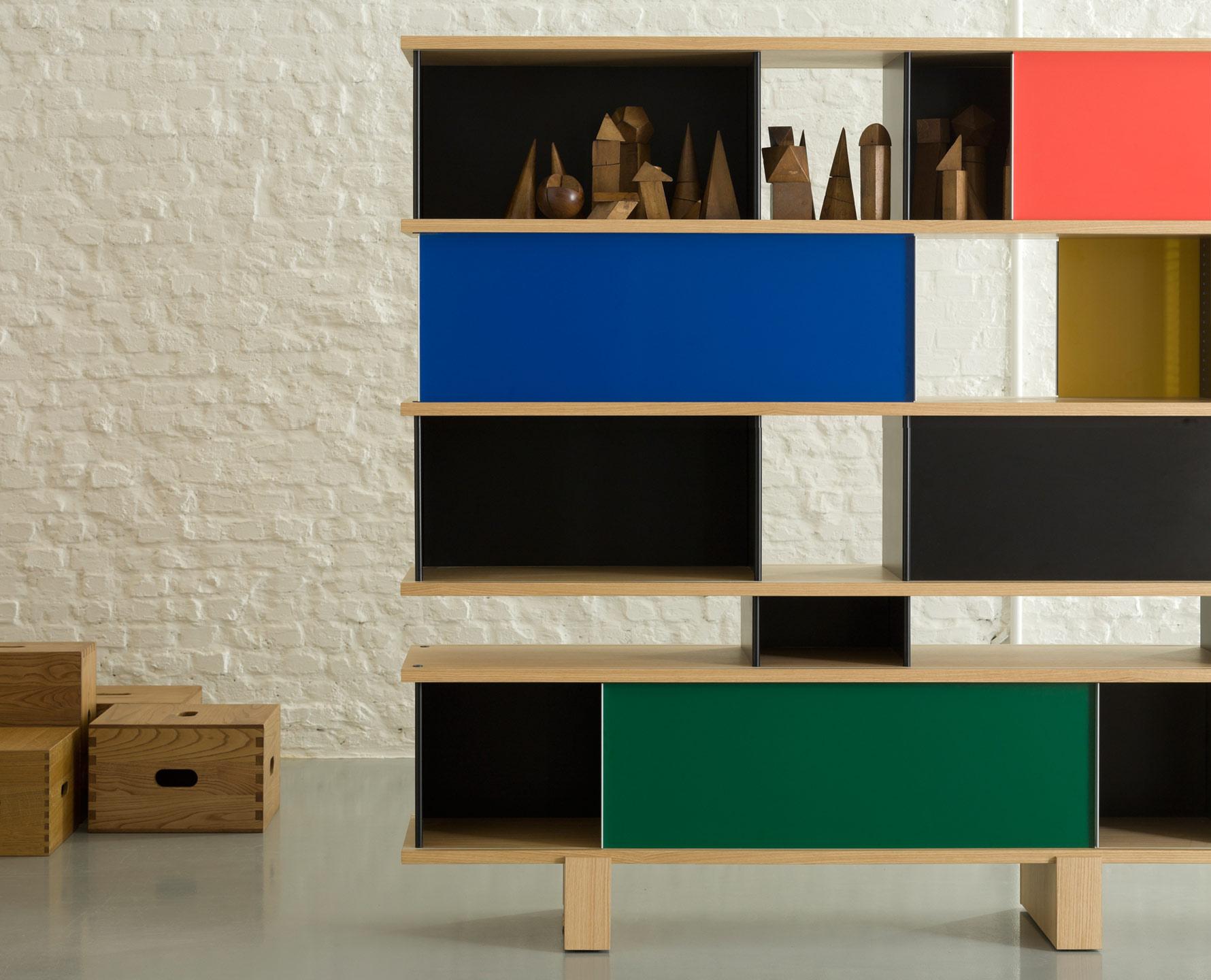 526 nuage di cassina pareti e librerie arredamento. Black Bedroom Furniture Sets. Home Design Ideas