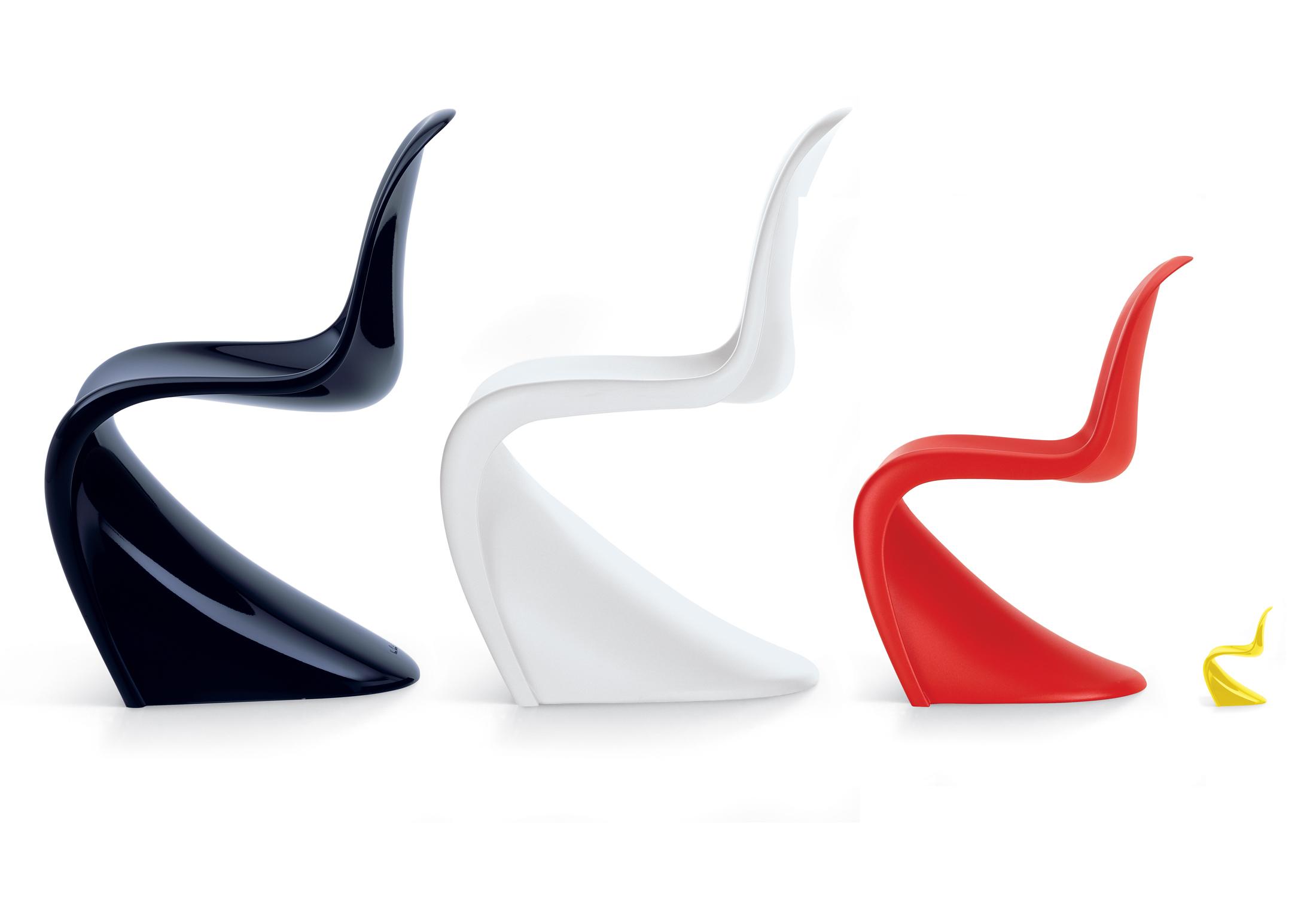 Panton chair di vitra sedie poltroncine arredamento for Design stuhl panton