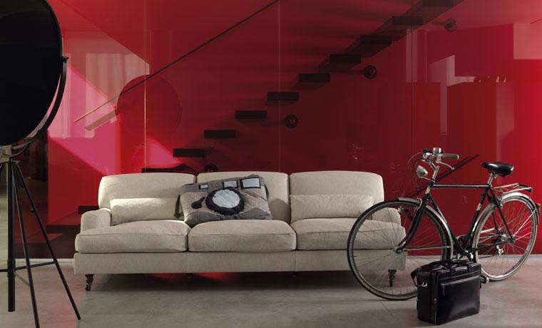 Raffles di de padova divani e poltrone arredamento for De padova divani