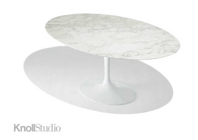 Tavolo Tulip Knoll Marmo : Saarinen tavolo knoll. good saarinen dining table oval dining tables