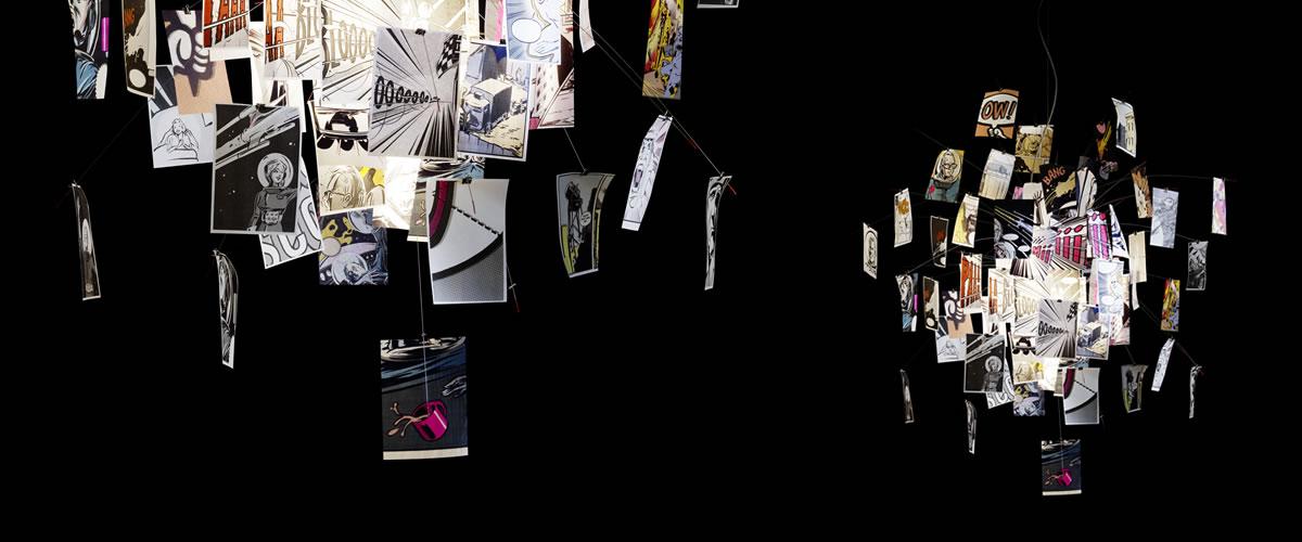 Zettel 39 z di ingo maurer lampadari illuminazione for Lampadario ingo maurer
