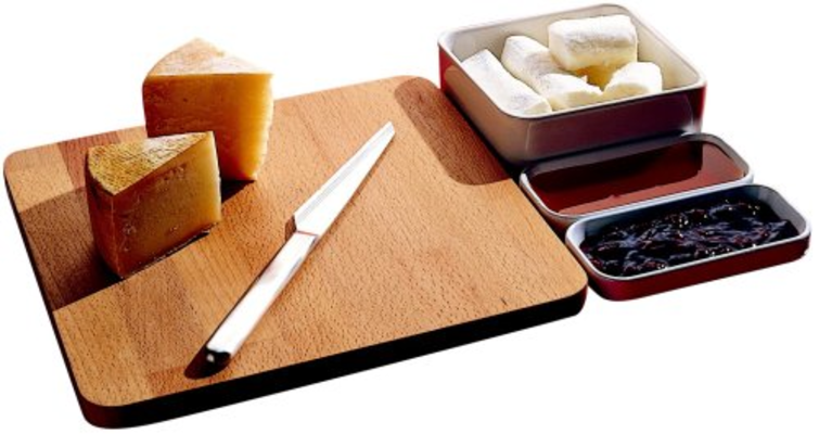 Programma 8 set per formaggi alessi accessori cucina in for Accessori cucina alessi