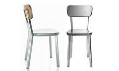 Déjà-vu Chair Legno/Alluminio Magis