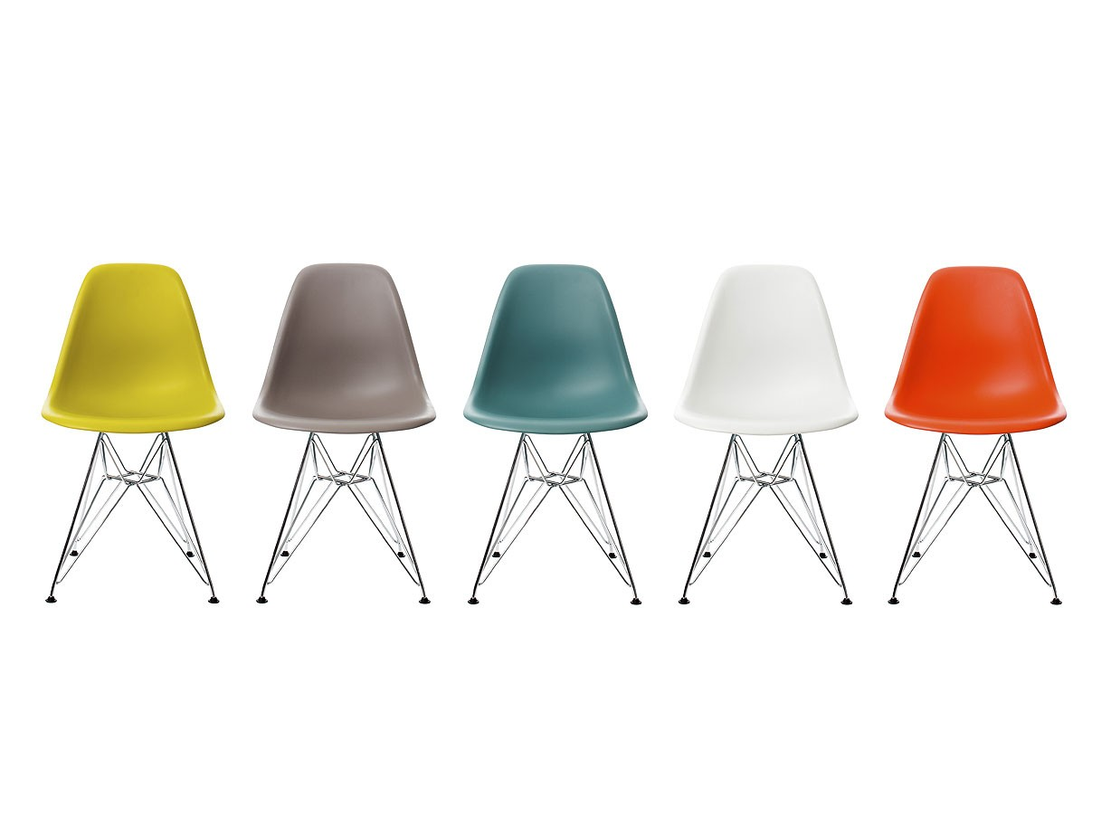Eames Dsr Side Chair.Eames DSR Side Chair Designed By Charles Ray ...