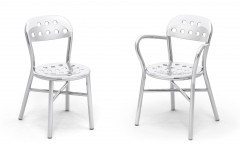 Pipe Chair Alluminio Magis