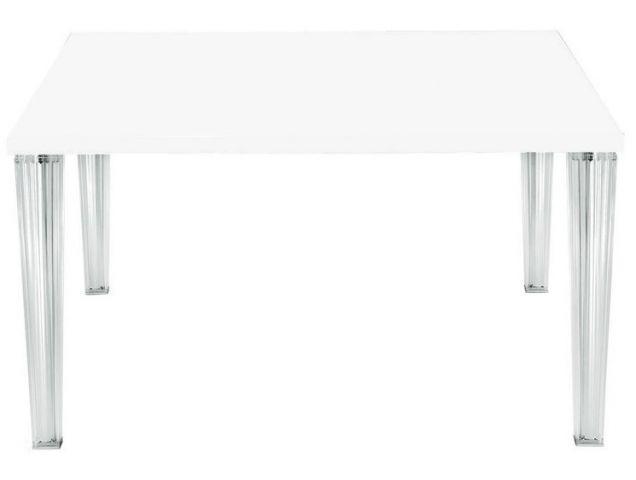 Top top tavolo 160x80 vetro kartell tavoli scrivanie - Tavolo top top kartell ...