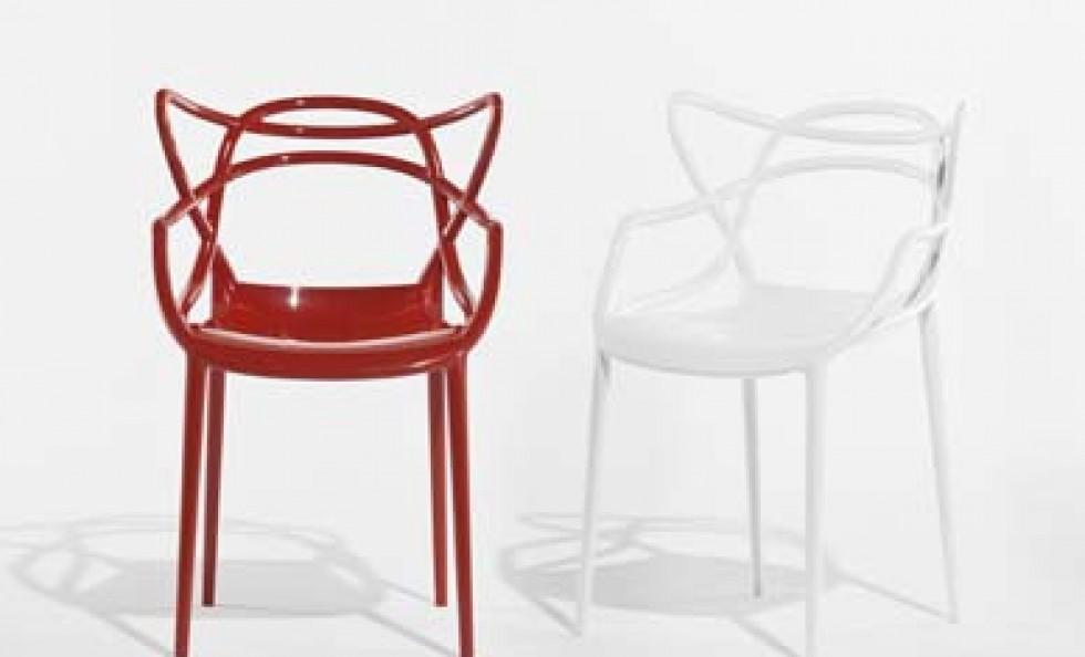 Masters di kartell sedie poltroncine arredamento for Sedie design kartell