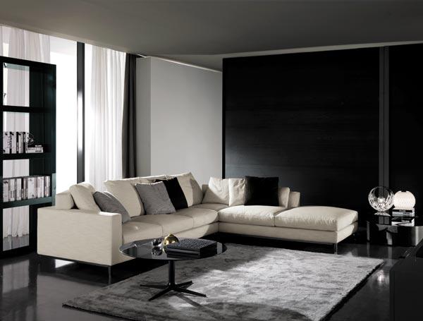 Andersen divano di minotti divani e poltrone for Divano minotti