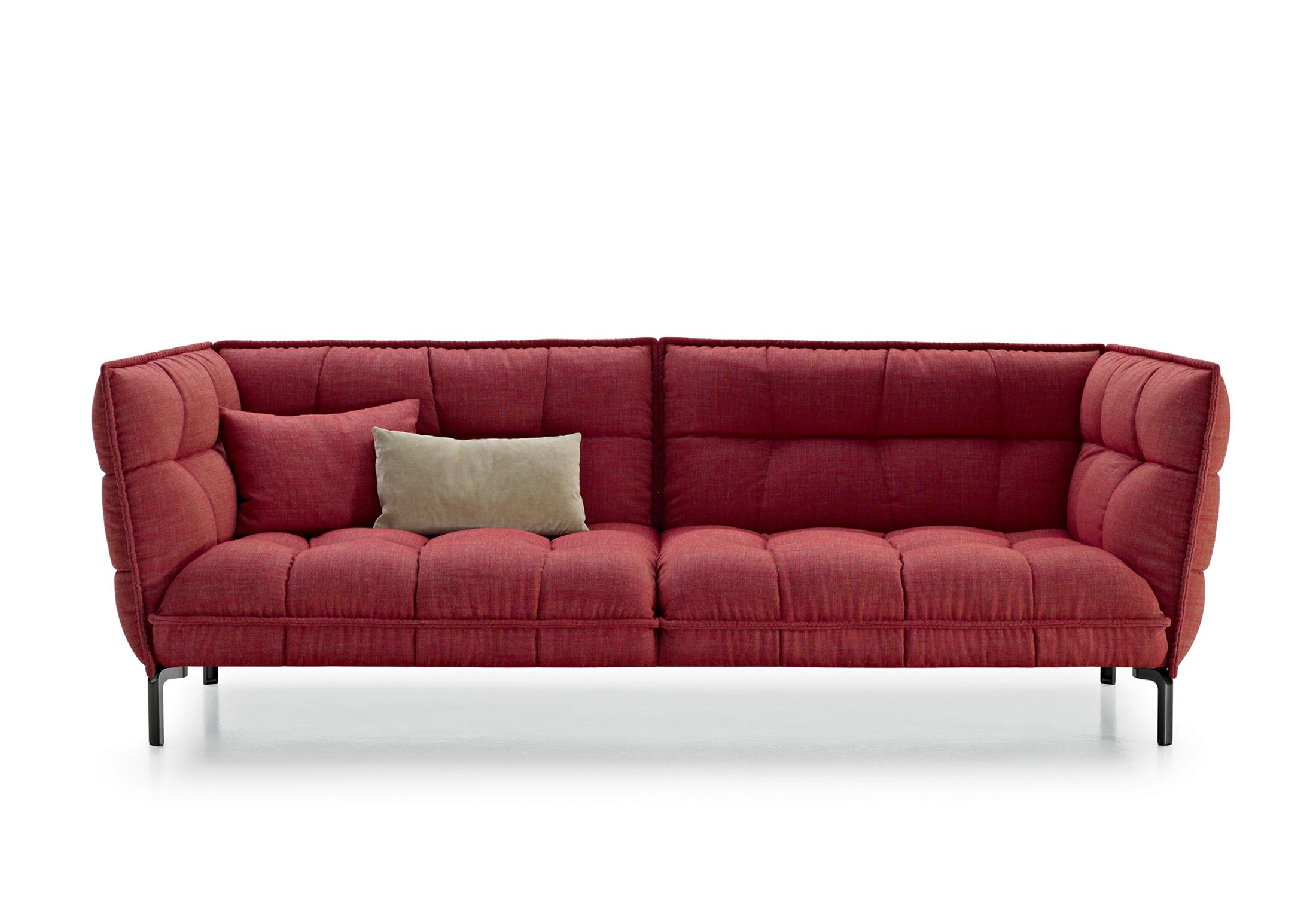 Husk sofa di b b italia divani e poltrone arredamento for B and b divani