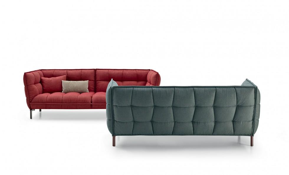 husk sofa di b b italia divani e poltrone arredamento mollura home design. Black Bedroom Furniture Sets. Home Design Ideas