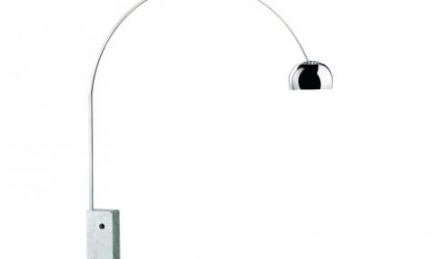 Arco di flos lampade da terra illuminazione mollura - Oggetti design famosi ...