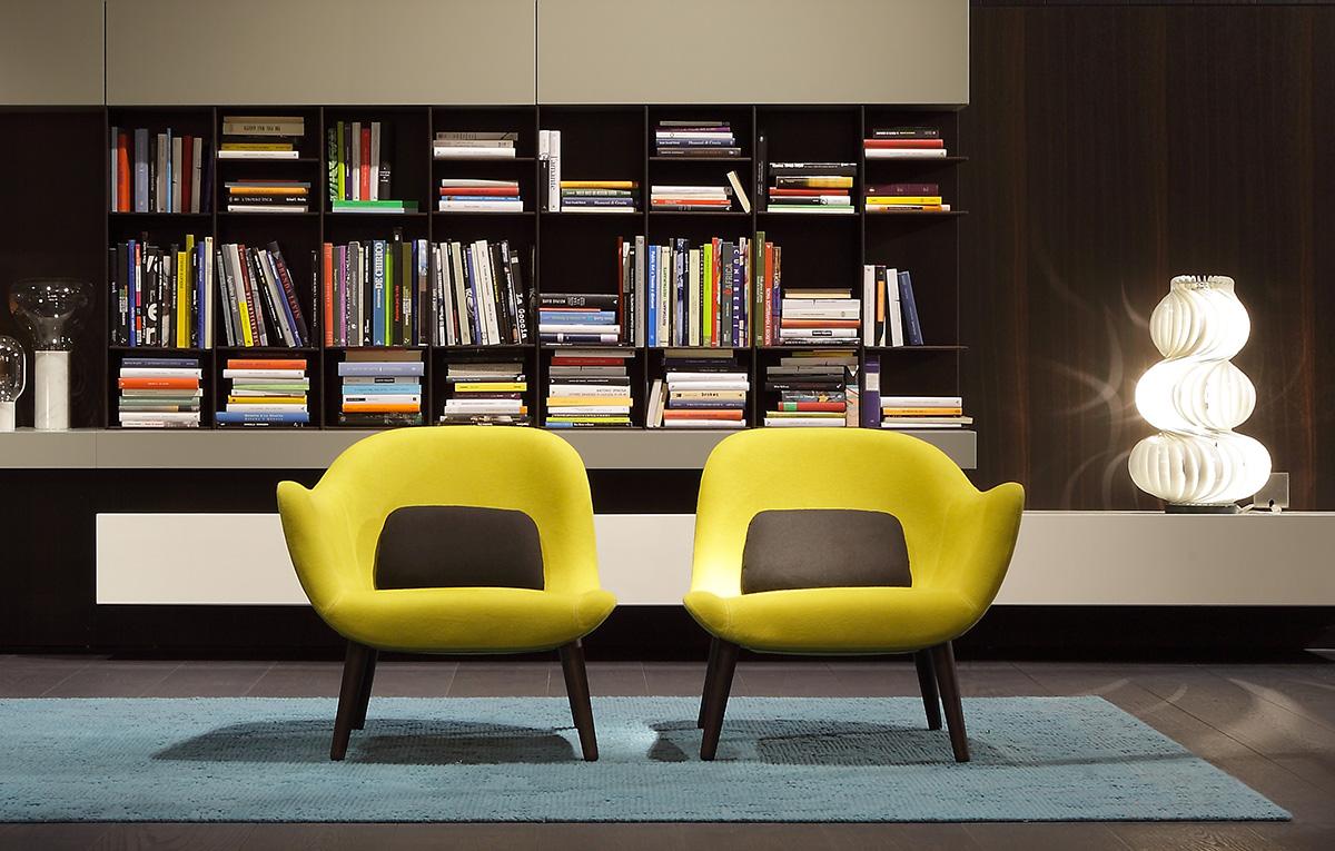 Mad di poliform divani e poltrone arredamento for Poltrone design outlet online