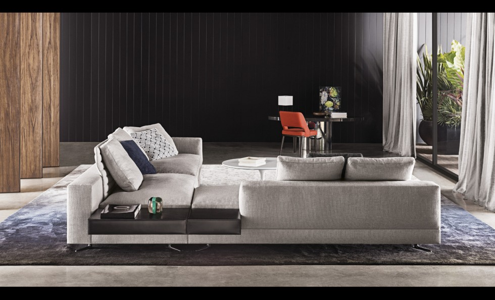 White di minotti divani e poltrone arredamento for Divano enorme