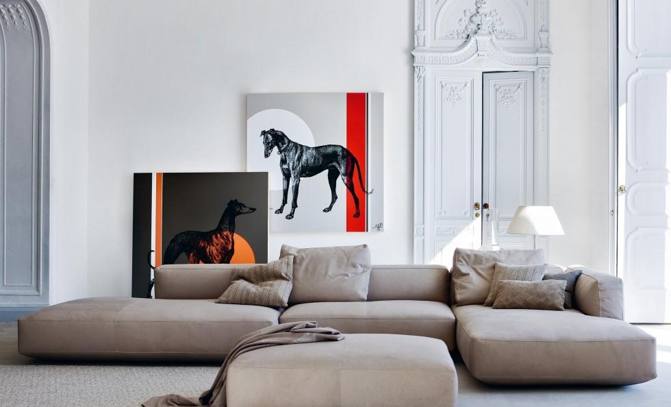 altopiano di zanotta divani e poltrone arredamento. Black Bedroom Furniture Sets. Home Design Ideas