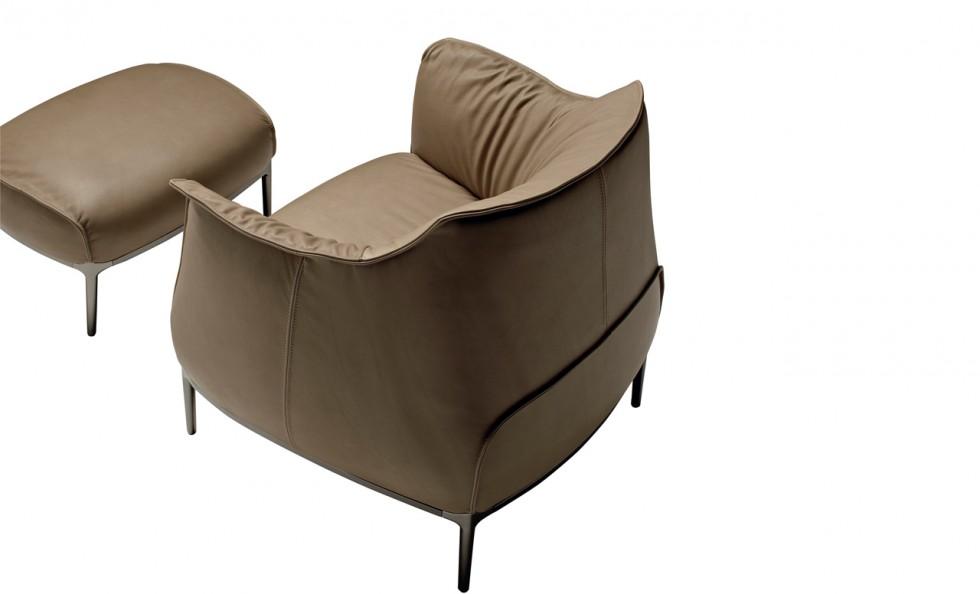 archibald di poltrona frau divani e poltrone arredamento mollura home design. Black Bedroom Furniture Sets. Home Design Ideas