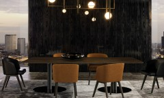 Creed Dining Little Poltroncina Minotti