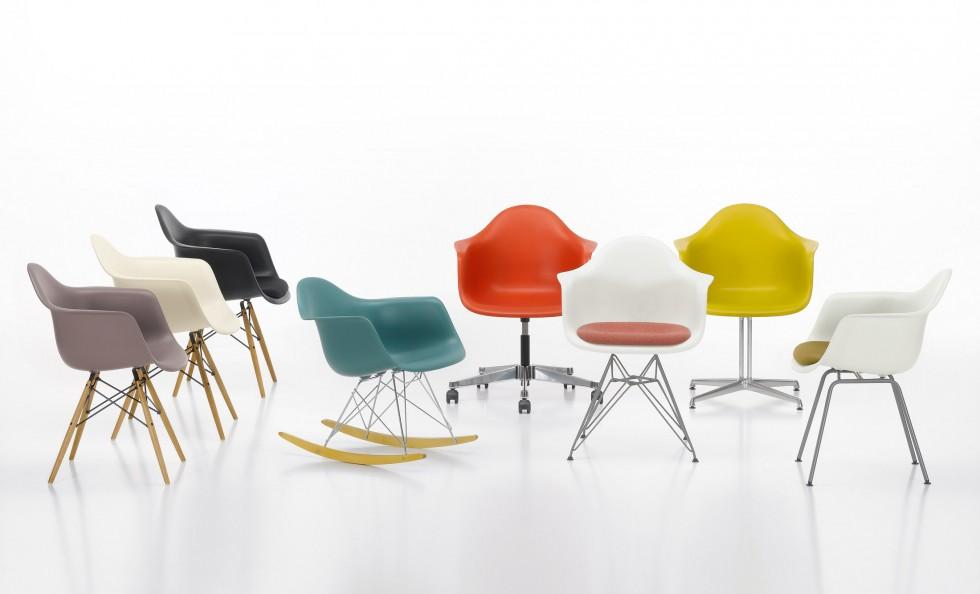 Eames plastic armchair di vitra sedie poltroncine - Eames sedia vitra ...