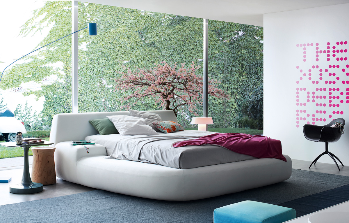 Letto Matrimoniale Poliform : Big bed di poliform letti co arredamento mollura