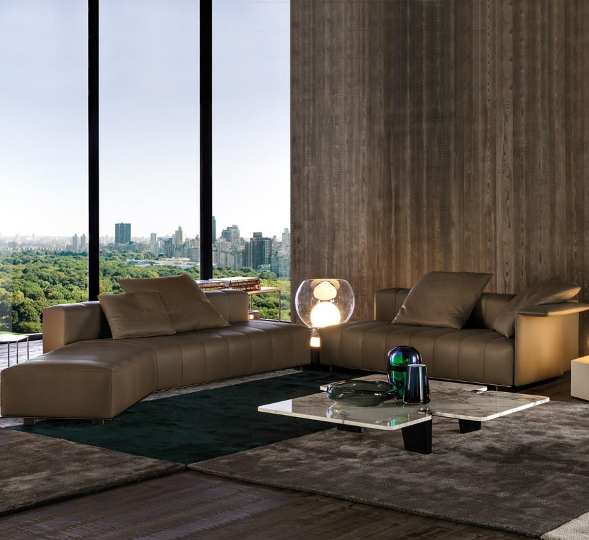 Freeman lounge divano modulare di minotti divani e for Minotti arredamenti