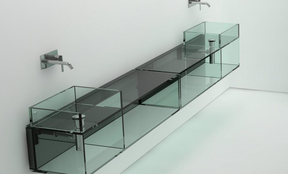 Glass Lavabo di Boffi   Bagni - Arredamento   Mollura Home Design