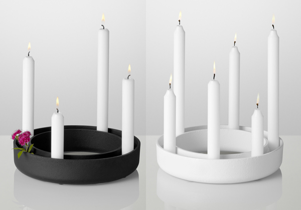 candeliere gloria di muuto candelabri accessori mollura home design. Black Bedroom Furniture Sets. Home Design Ideas