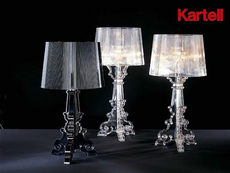 Bourgie di kartell lampade da tavolo illuminazione mollura home design - Lampe chevet kartell ...