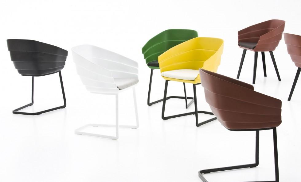 rift chair di moroso sedie poltroncine arredamento
