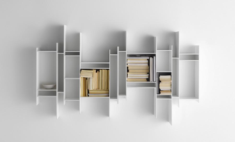 ... di Mdf Italia  Pareti e Librerie - Arredamento  Mollura Home Design