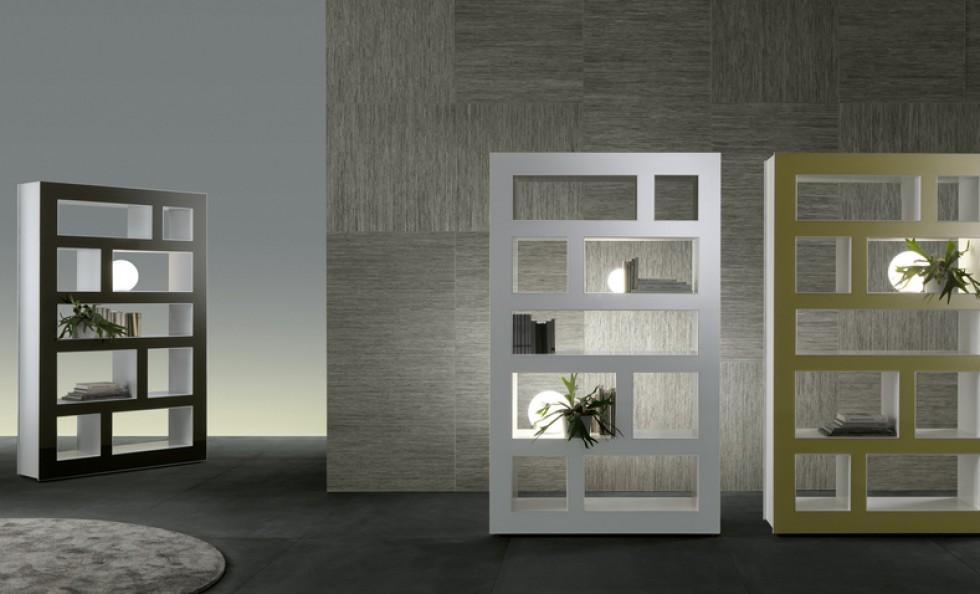 Stele di rimadesio pareti e librerie arredamento mollura home design - Rimadesio mobili ...